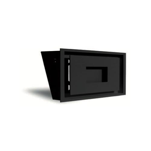 Grille MPR 500 noir + précadre 500 x 250