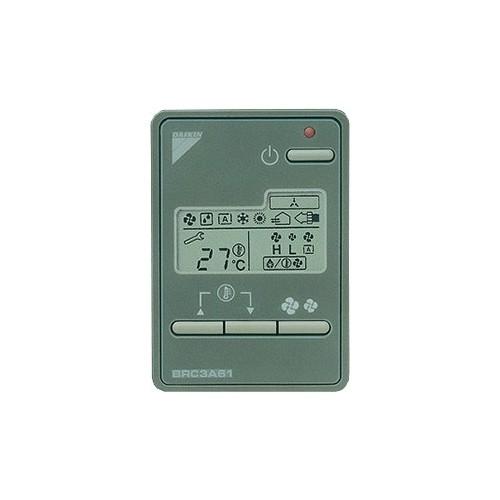 Télécommande filaire pour application hétellière Daikin BRC3A61