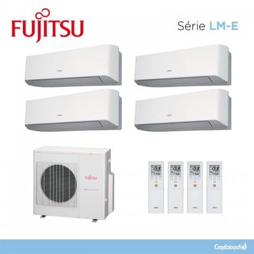 Fujitsu ASYG7LMCE + ASYG12LMCE + ASYG12LMCE + ASYG12LMCE + AOYG30LAT4
