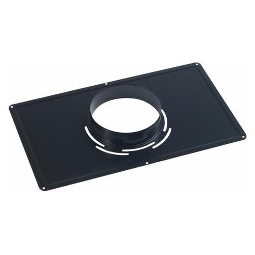 Plaque de Propreté Noire Rectangulaire 30x50