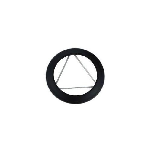 Rosace à ressorts Email Noir Mat 1.2 mm Ø150