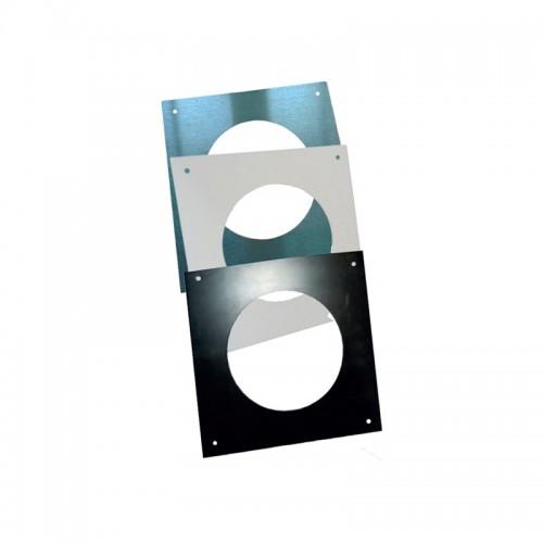 Plaque de propreté carrée 370 x 370 mm