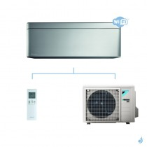 DAIKIN climatisation mono split mural gaz R32 Stylish Silver FTXA-AS 2.5kW WiFi FTXA25AS RXA25A A+++