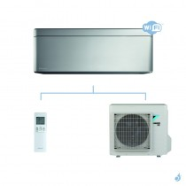 DAIKIN climatisation mono split mural gaz R32 Stylish Silver FTXA-AS 5kW WiFi FTXA50AS RXA50A A++