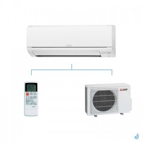 MITSUBISHI climatisation mono split gaz R410A mural essentiel MSZ-HJ 5kW MSZ-HJ50VA + MUZ-HJ50VA A+