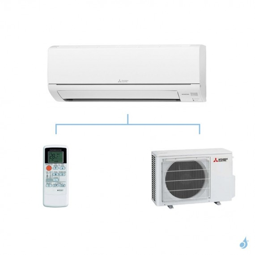 MITSUBISHI climatisation mono split gaz R410A mural essentiel MSZ-HJ 7,1kW MSZ-HJ71VA + MUZ-HJ71VA A+