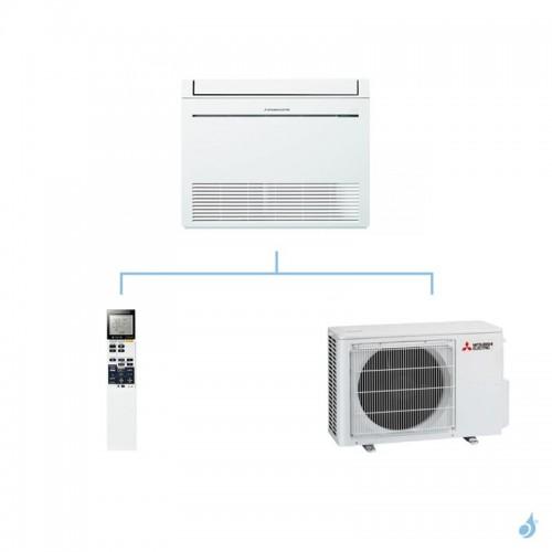MITSUBISHI climatisation mono split gaz R410A console de luxe MFZ-KJ 3,5kW MFZ-KJ35VE + MUFZ-KJ35VE A++