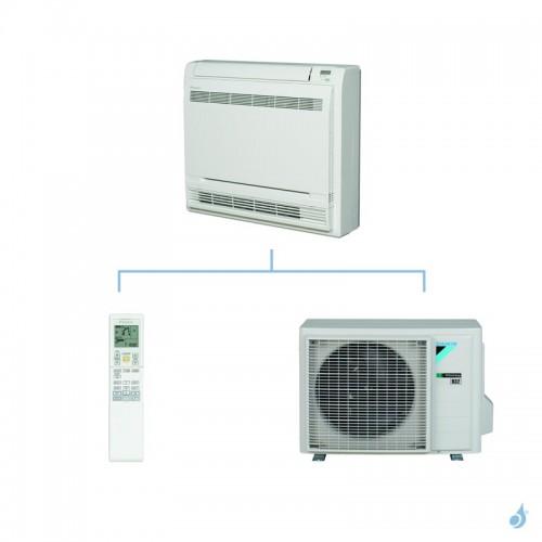 DAIKIN climatisation mono split console gaz R32 Console Double Flux FVXM-F 2.5kW FVXM25F RXM25N A++