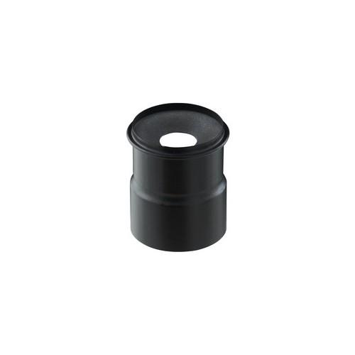Adaptateur air étanche à membrane AMA-FL NOIR raccord prise d'air frais PGI Poujoulat à 60 mm