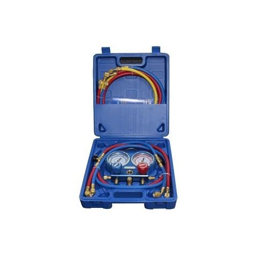 Coffret manomètre R407C - R410A - R32 - R134A VALUE VMG Manifold