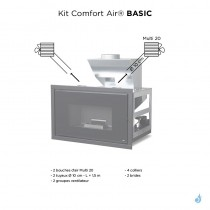 MCZ Kit Comfort Air Basic