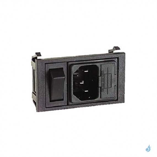Interrupteur BZ01001/s + fusible (filtre d'alimentation) pour tout modèle Ravelli
