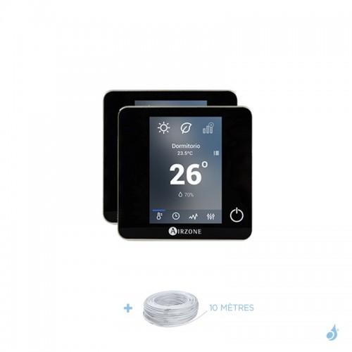Pack thermostat centralisé Airzone Blueface filaire