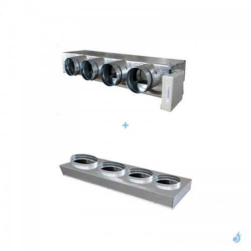 Pack Plenums Eazyzone medium L pour gainable Daikin FBA100 FBA125 FBA140 FDA125