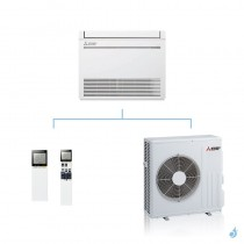 MITSUBISHI climatisation mono split gaz R32 console compacte MFZ-KT 6,1kW MFZ-KT60VG + SUZ-M60VA A++