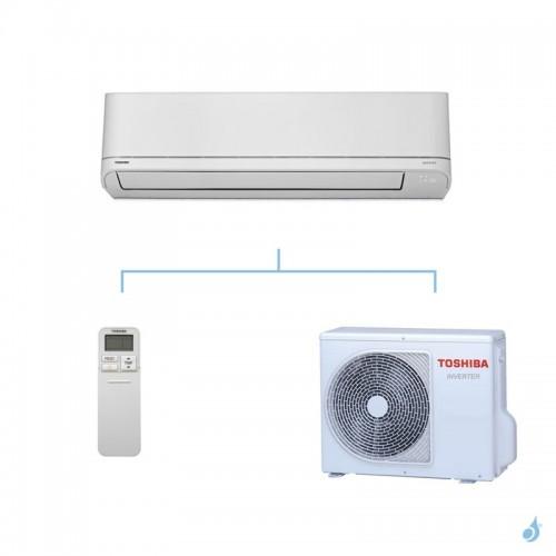 TOSHIBA climatisation mono split mural gaz R32 Shorai 6,1kW RAS-B22PKVSG-E + RAS-22PAVSG-E A++
