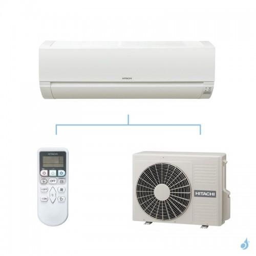 HITACHI climatisation mono split murale Dodai gaz R32 RAK-35PED + RAC-35WED 3,5kW A++