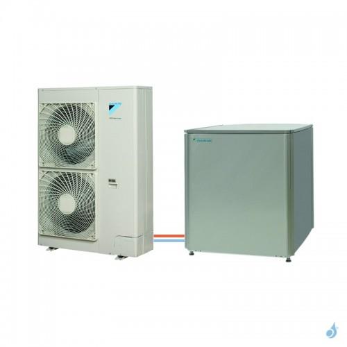 Pompe à chaleur DAIKIN Altherma R HT haute température gaz R-410A taille 11 ERSQ011AV1 + EKHBRD011ADV17 11kW A+