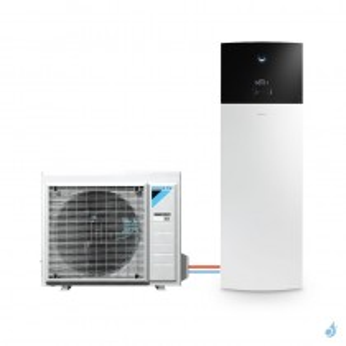 Pompe à chaleur DAIKIN Altherma 3 R F moyenne température gaz R-32 taille 4 ERGA04DV + EHVH04S18D6V 4kW ECS 180L A+++