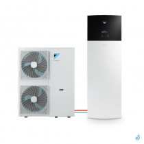 Pompe à chaleur DAIKIN Altherma 3 H F moyenne température gaz R-32 taille 16 EPGA16DV + EAVH16S18D6V 16kW ECS 180L A+++