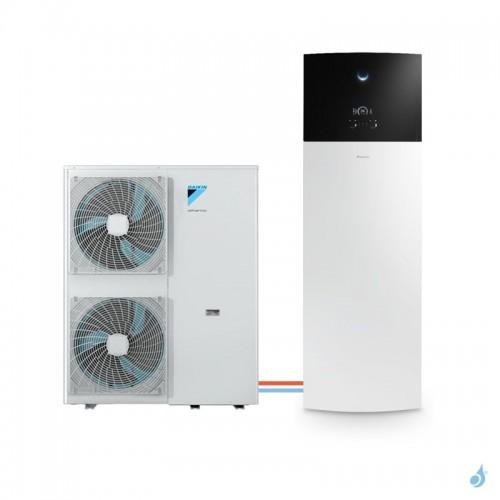 Pompe à chaleur DAIKIN Altherma 3 H F moyenne température gaz R-32 taille 16 EPGA16DV + EAVH16S23D6V 16kW ECS 230L A+++