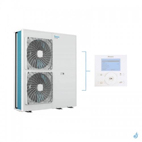 Pompe à chaleur Monobloc DAIKIN Altherma M Chaud seul basse température 1Ph gaz R-410 taille 14 EDLQ014CV3 + EKRUCBL1 14kW A+