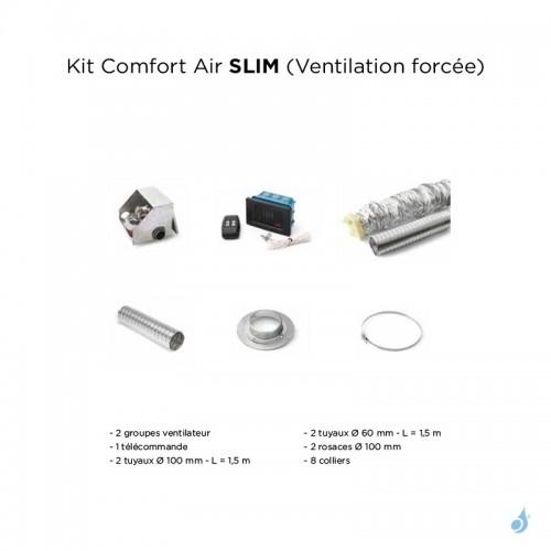 Kit complet Comfort Air Slim pour gamme bois MCZ