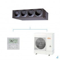 FUJITSU climatisation mono split (3Ph) gainable KMLA gaz R32 Performance 12,1kW ARXG45KMLA + AOYG45KRTA A