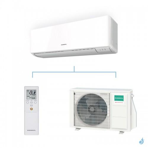 General climatisation mono split mural KMTA gaz R32 Performance 2,5kW ASHG09KMTA + AOHG09KMTA A++