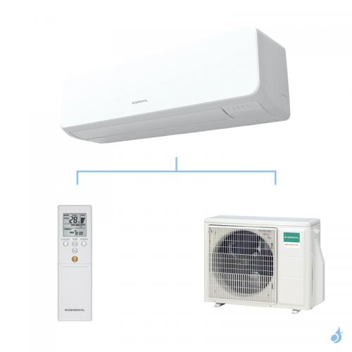 General climatisation mono split mural KMTA gaz R32 Grande puissance 5,2kW ASHG18KMTA + AOHG18KMTA A++
