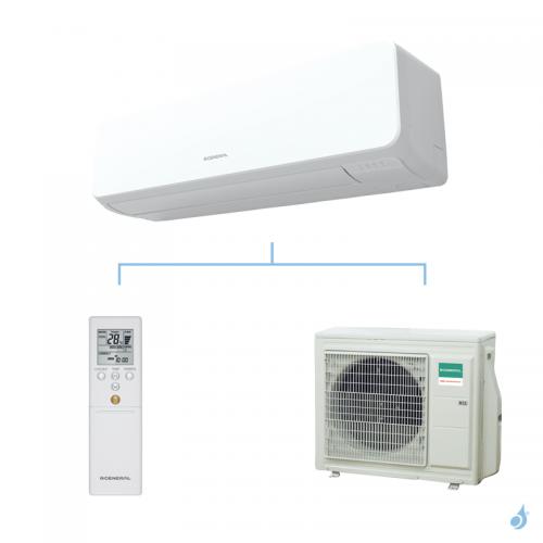 General climatisation mono split mural KMTA gaz R32 Grande puissance 7,1kW ASHG24KMTA + AOHG24KMTA A++