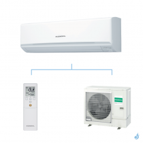 General climatisation mono split mural KMTA gaz R32 Grande puissance 9,4kW ASHG36KMTA + AOHG36KMTA A++