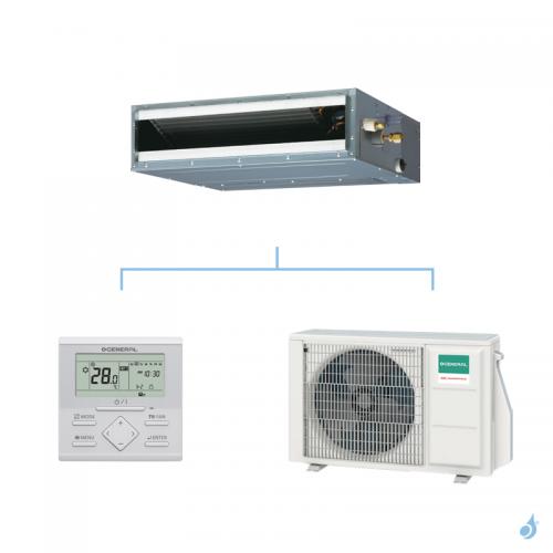 General climatisation mono split gainable Compact KLLAP gaz R32 Performance 2,5kW ARXG09KLLAP + AOHG09KBTB A++