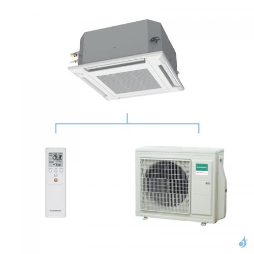 GENERAL climatisation mono split cassette 600 x 600 gaz R32 KVLA performance 6,8kW AUXG24KVLA + AOHG24KBTB A++