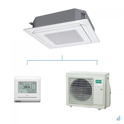 GENERAL climatisation mono split KRLB cassette 800x800 gaz R32 Performance 6,8kW AUXG24KRLB + AOHG24KBTB A++