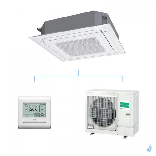 GENERAL climatisation mono split KRLB cassette 800x800 gaz R32 Performance 8,5kW AUXG30KRLB + AOHG30KBTB A++