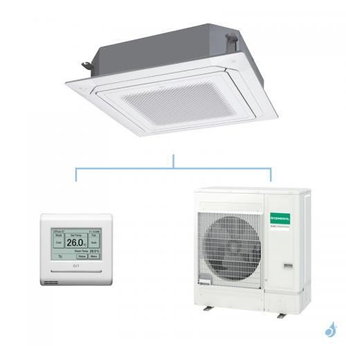 GENERAL climatisation mono split KRLB cassette 800x800 gaz R32 Performance 12,1kW AUXG45KRLB + AOHG45KBTB A++
