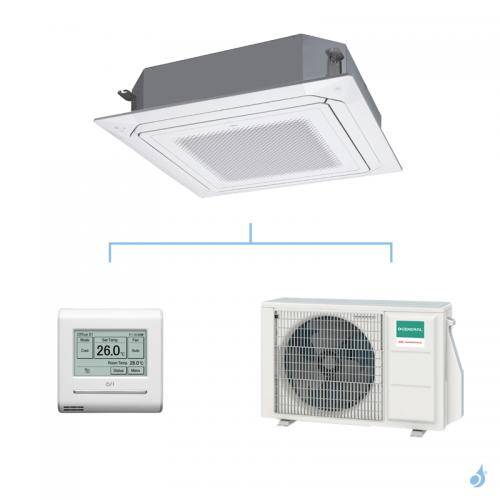 GENERAL climatisation mono split KRLB cassette 800x800 gaz R32 Original 5,2kW AUXG18KRLB + AOHG18KATA A++