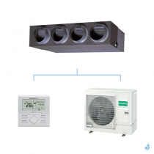 GENERAL climatisation mono split (3Ph) gainable KMLA gaz R32 Original 9,5kW ARXG36KMLA + AOHG36KQTA A+