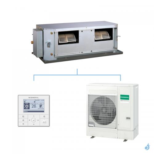General climatisation mono split gainable haute pression statique KHTA gaz R32 Performance 12,1kW ARXG45KHTA + AOHG45KBTB B