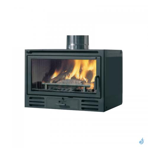 EDILKAMIN Firebox Riga 49 Insert à bois avec vitre frontale 9,6kW A+