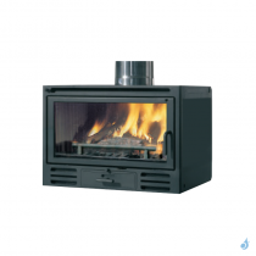 EDILKAMIN Firebox Riga 54 Insert à bois avec vitre frontale 9,6kW A+