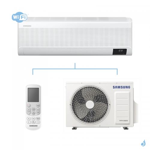 SAMSUNG Climatisation Mono Split Mural Wind-Free Elite Gaz R-32 AR09TXCAAWK 2.5 kW WiFi A+++/A+++