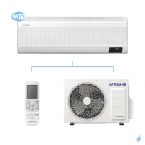 SAMSUNG Climatisation Mono Split Mural Wind-Free Elite Gaz R-32 AR12TXCAAWK 3.5 kW WiFi A+++/A+++