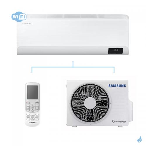 SAMSUNG Climatisation Mono Split Mural CEBU Gaz R-32 AR09TXFYAWK 2.5 kW WiFi A++/A+