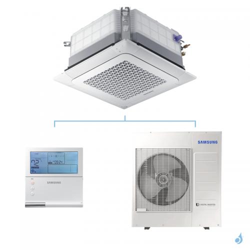 SAMSUNG Climatisation Mono Split Cassette 4 voies Wind-Free Monophasé 800x800 Gaz R-32 AC071RN4DKG 7.1kW A++/A+