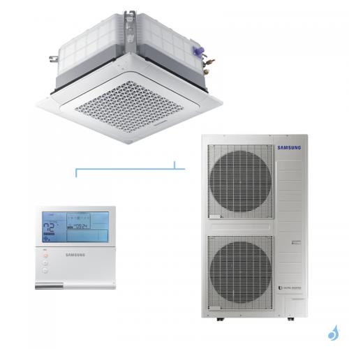 SAMSUNG Climatisation Mono Split Cassette 4 voies Wind-Free Triphasé 800x800 Gaz R-32 AC140RN4DKG 13.4kW