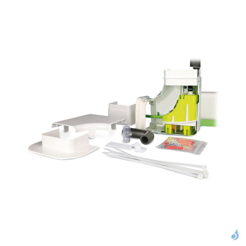 ASPEN Pompe de relevage goulotte Mini verte Silence+ Slimline 12 litres/heure