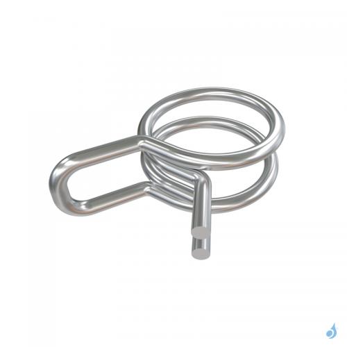 SAUERMANN Colliers de serrage double fil diamètre 6mm (25 pièces) réf ACC00906