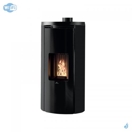 EDILKAMIN Celia Air Tight Plus Poêle à granulés canalisable étanche 9kW Wi-Fi A+